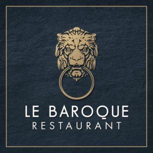 Logo du Restaurant le Baroque à Genève.