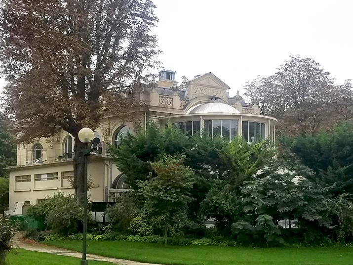 Pavillon Élysée vue depuis son jardin